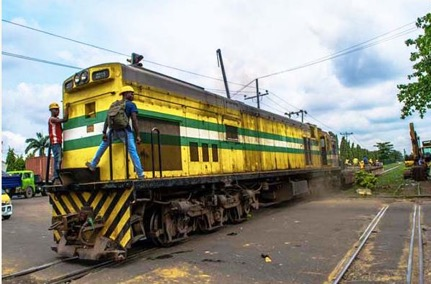 Train crushes man to death