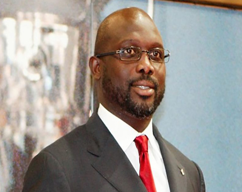 What Liberia's President, Weah Said About Super Eagles After Playing Against Them For 79 Minutes
