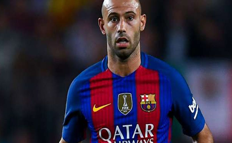 Mascherano could leave Barcelona next summer