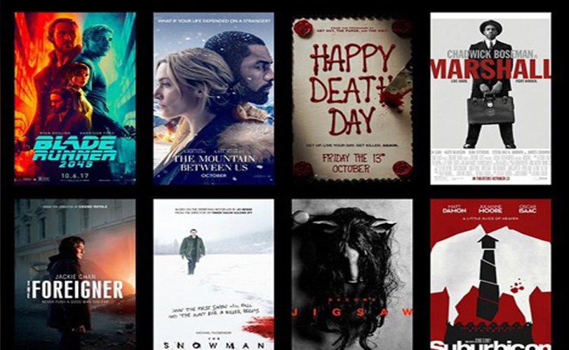 October movie releases