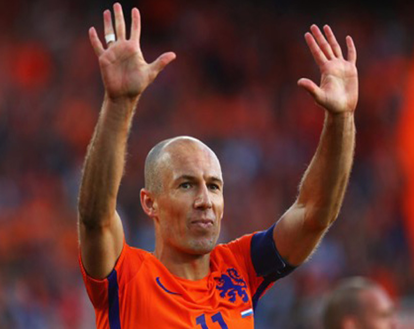 Robben retires from international football after Netherlands miss World Cup
