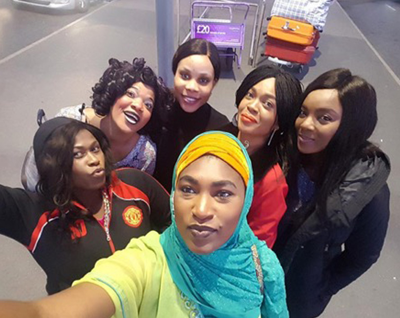 Wives on strike: The revolution,cast shooting in London