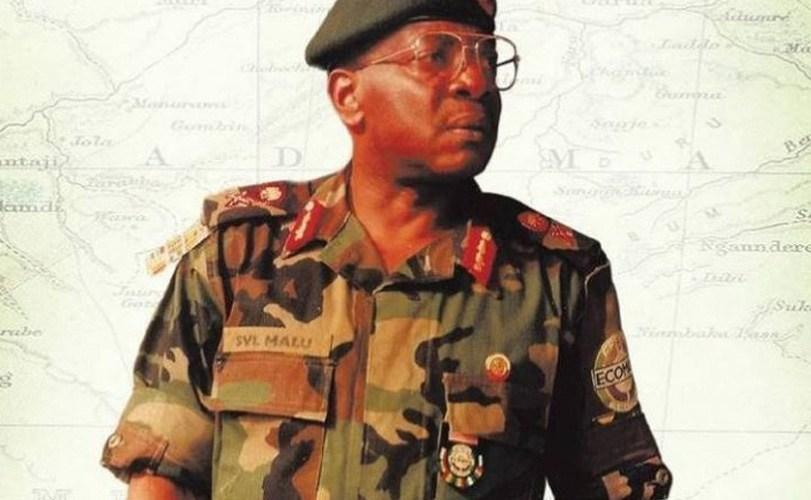 President Muhammadu Buhari mourns General Victor Malu