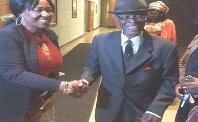 83yrs old Nigerian Ambassador who was earlier rejected by Senate resumes duty in US