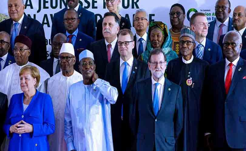 Photos: President Buhari's participation at the Opening Ceremony of the 5th AU-EU Summit