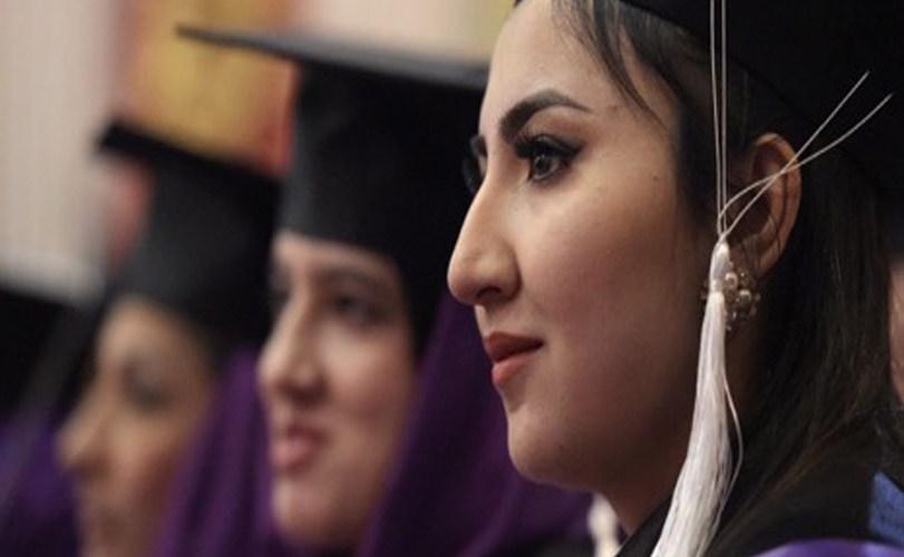 Afghan university sees first graduates in women's studies..