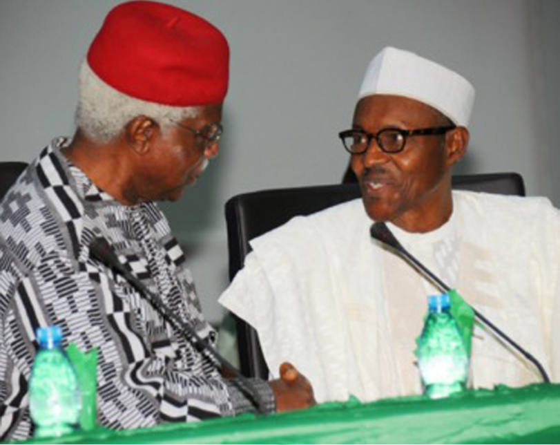 Buhari approves the immediate treatment of Alex Ekwueme outside the country