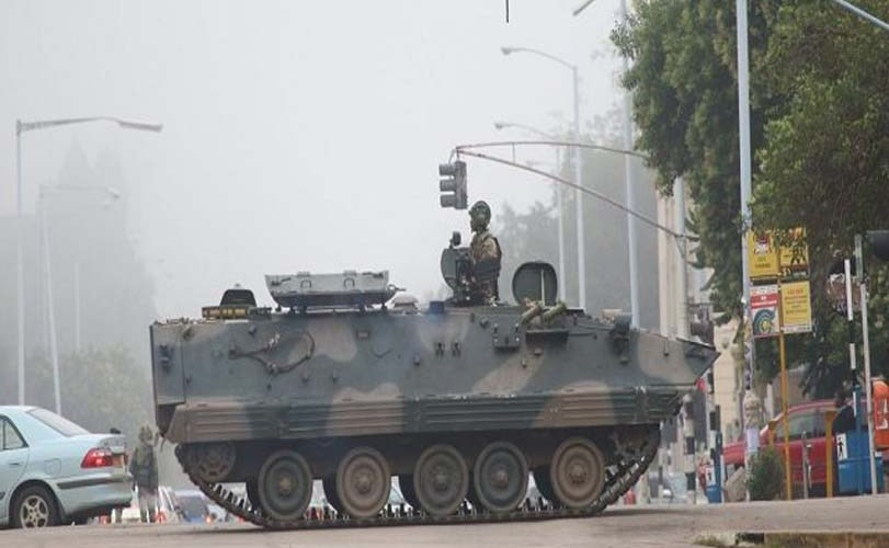 Military Seizes Power In Zimbabwe – But Denies Coup Against Mugabe