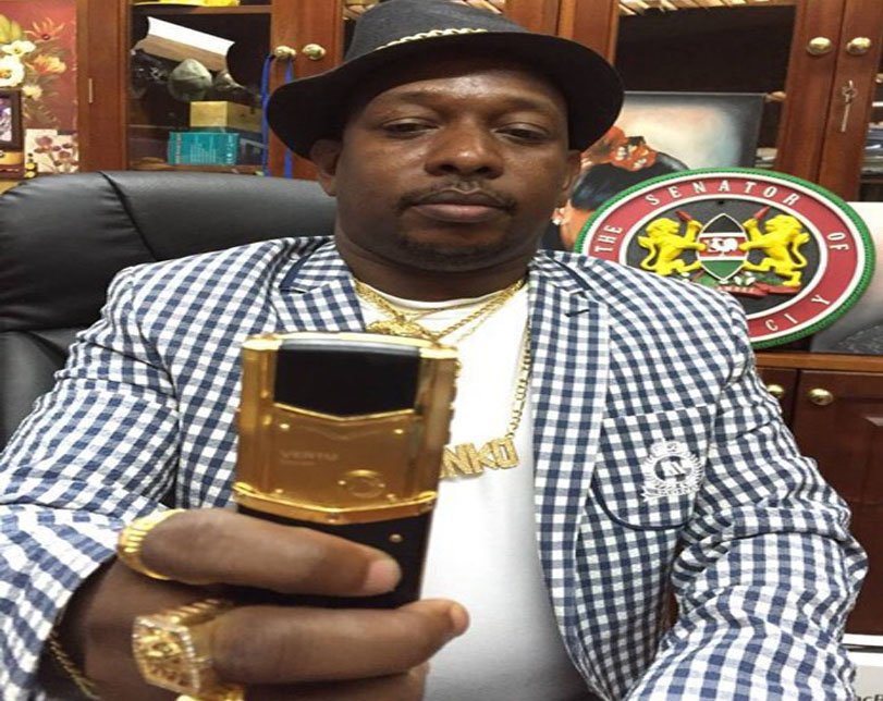 Meet Billionaire Kenyan politician who drives Gold cars and drinks Gold wines