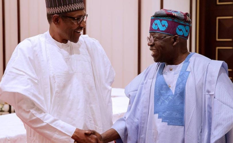 "President Buhari joined politics to save Nigeria"" Bola Tinubu says"