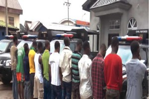 950 Suspected Political Thugs In Kano Arrested By Police