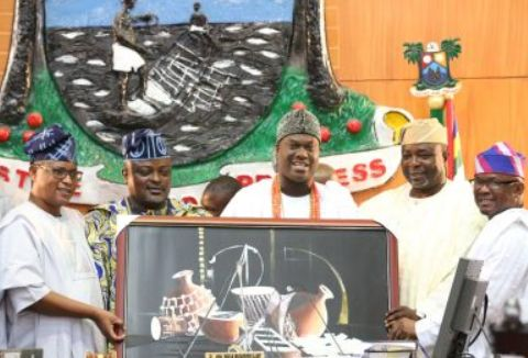 Ooni of Ife Watches As Lagos Assembly Holds Proceedings In Yoruba