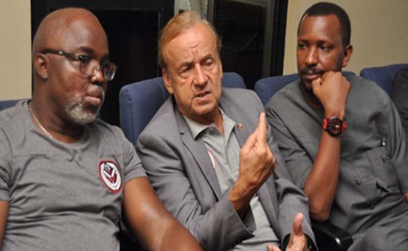 Pinnick: Why we offered Rohr fresh two year contract