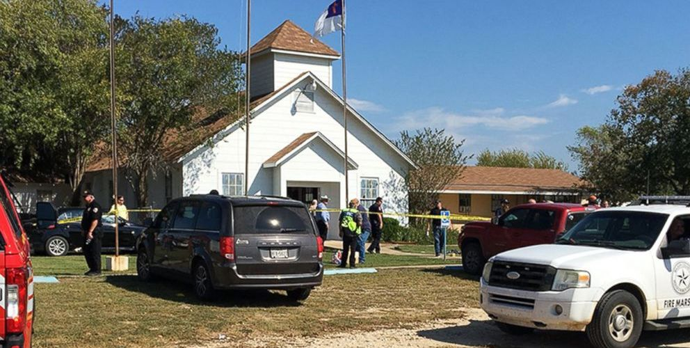 At least 26 dead, 20 injured in massacre at rural Texas church..
