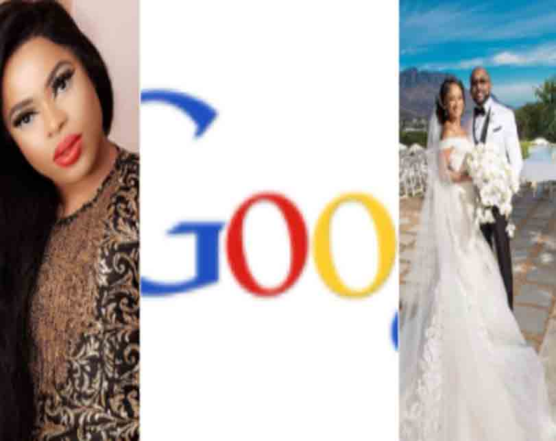 MMM, Who is Bobrisky, is Buhari dead? Moji Olaiya, Adesua and Banky's wedding make it to the list of top Google searches in Nigeria in 2017