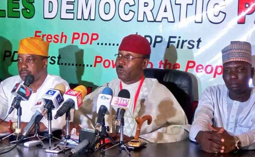 Fresh crisis in PDP as new faction of the party has emerged