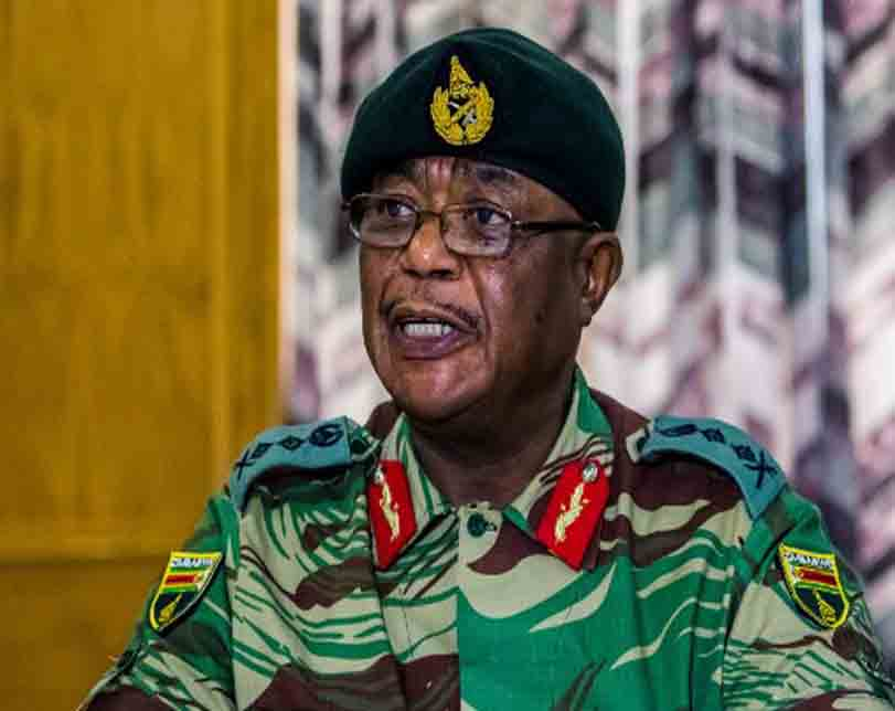 Zimbabwe army chief who helped removed Robert Mugabe has been sworn in as Vice President.