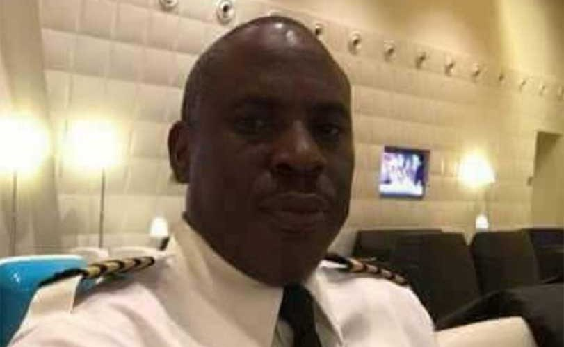 Lauretta Onochie shares photos of President Buhari's pilot who is an Igbo man