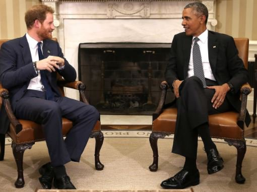 Obama warns against 'irresponsible' use of social media in rare interview with Prince Harry