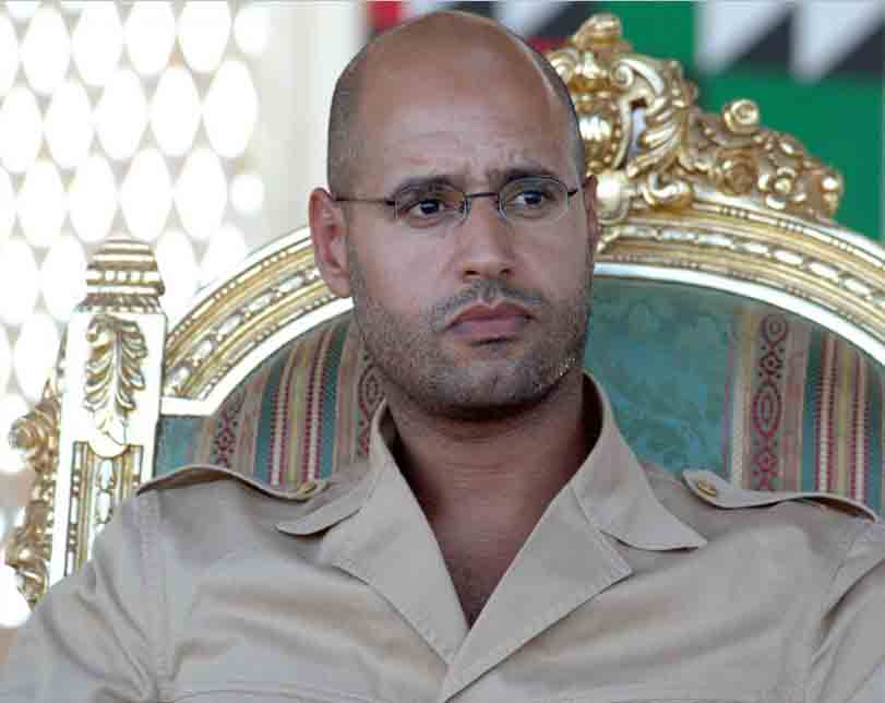 Gaddafi's son, Saif Al-Islam to run for Libya president in 2018