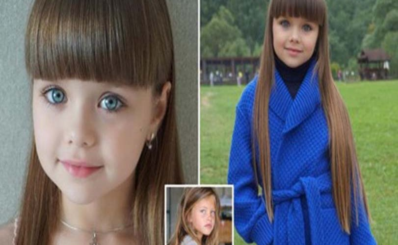 Russian child model aged just SIX is hailed the new Thylane Blondeau…