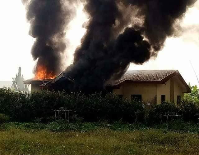 Fire razes IDP camp in Plateau