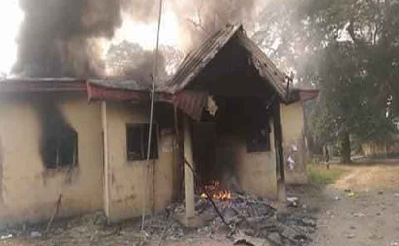 Thugs set ablaze INEC office in Imo