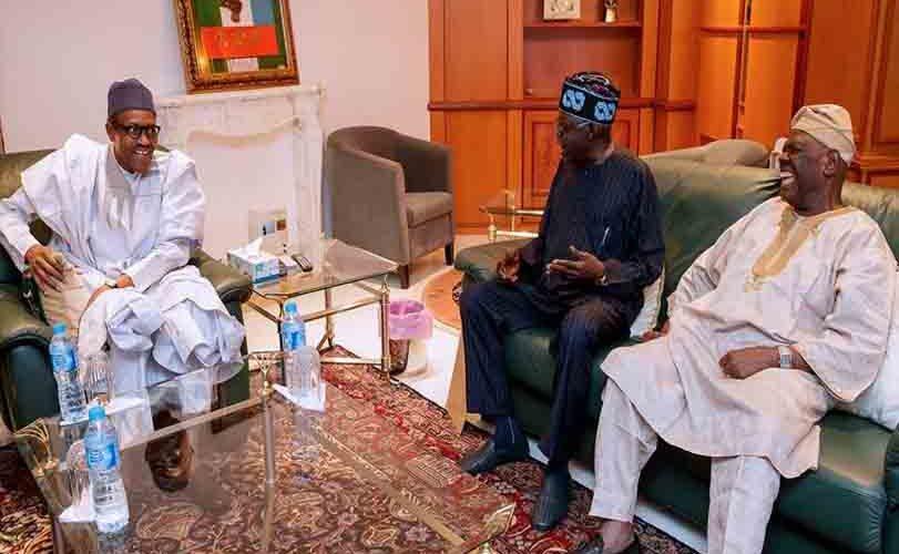Bola Tinubu visited President Buhari and explains why he visited him