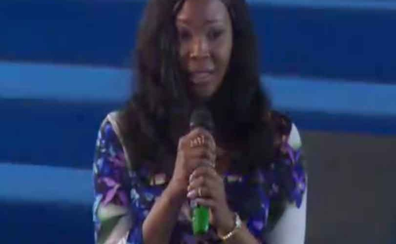 Stephanie Otobo visits Apostle Suleman's church, confesses she was paid heavily by some politicians to tarnish the image of the clergyman