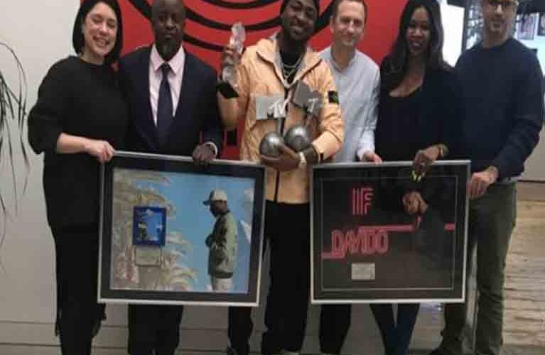 Davido's 'Fall' Goes Platinum