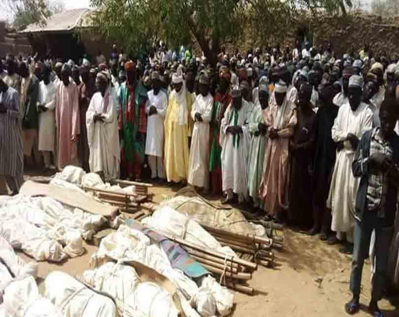 36 persons killed by unknown gunmen in Zamfara laid to rest