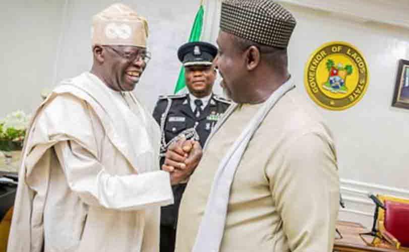 """Obasanjo playing politics with his letter to President Buhari"" Bola Tinubu says"