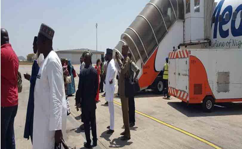 Medview plane aborts flight to Maiduguri, applies emergency brakes on runway