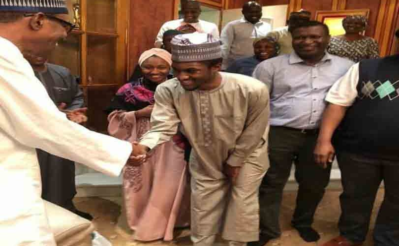 Yusuf Buhari Returns From Medical Trip