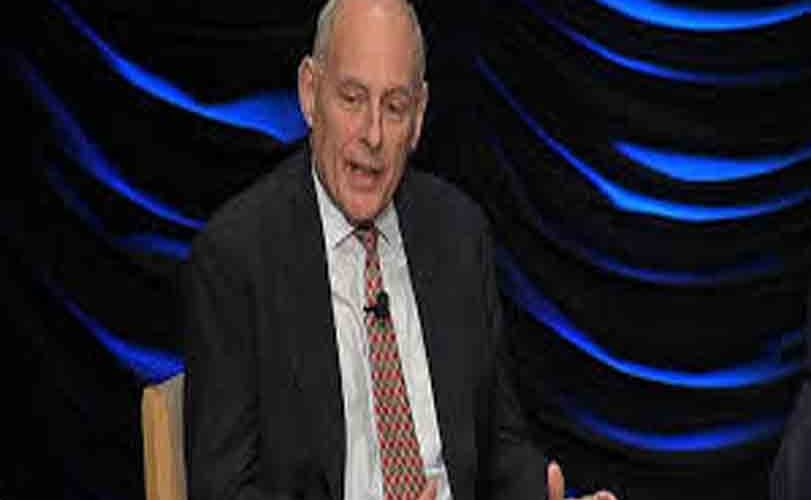 White house chief of staff John Kelly exprsses regret over leaving department of Homeland security, DHS