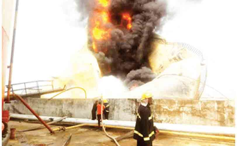 Pipeline explosion rocks Lagos (VIDEO)