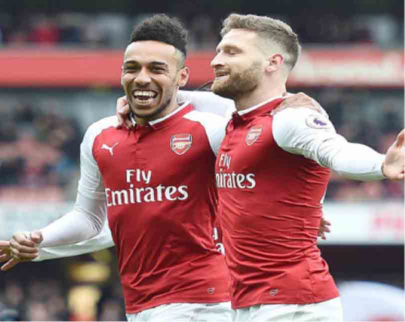 Arsenal go third, topple Tottenham, Man United