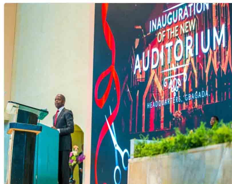 Osinbajo urges tolerance as Deeper Life opens new auditorum