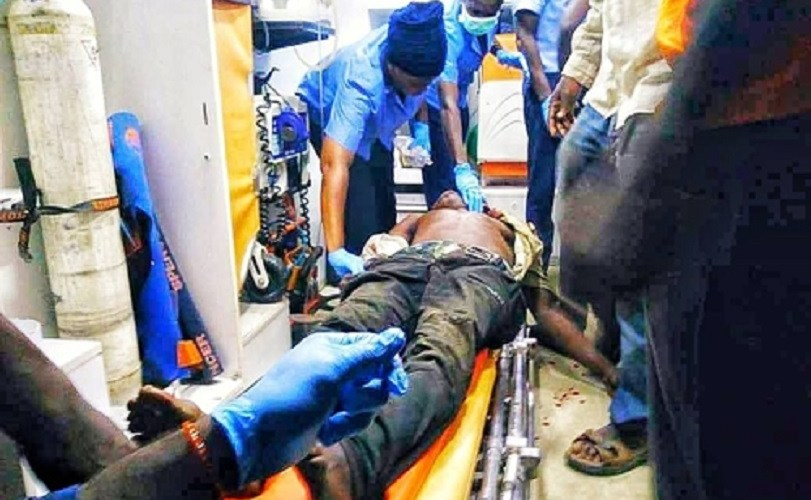 LASEMA Rescues 3 People From Fallen Container Accident At Ojuelegba Bridge As Others Die (Photos)