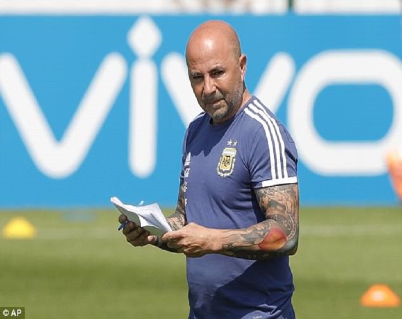 Argentina Coach's Notebook Exposes How He Plans To Win Nigeria In Last Group Match (Photos)