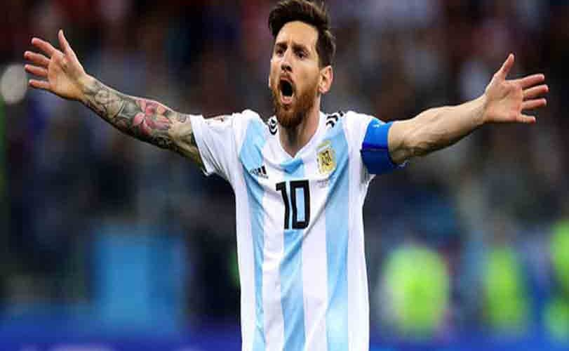 Lionel Messi Steps Down From Argentina Football Team 'Untill Further Notice'