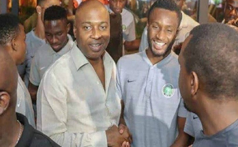 Nigeria Vs Iceland: Saraki Meets Super Eagles In Russia Ahead Of Today's Match