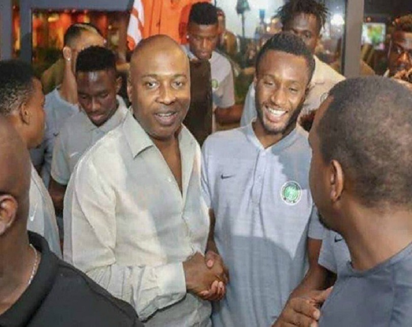 Nigeria Vs Iceland: Saraki Meets Super Eagles In Russia Ahead Of Today's Match