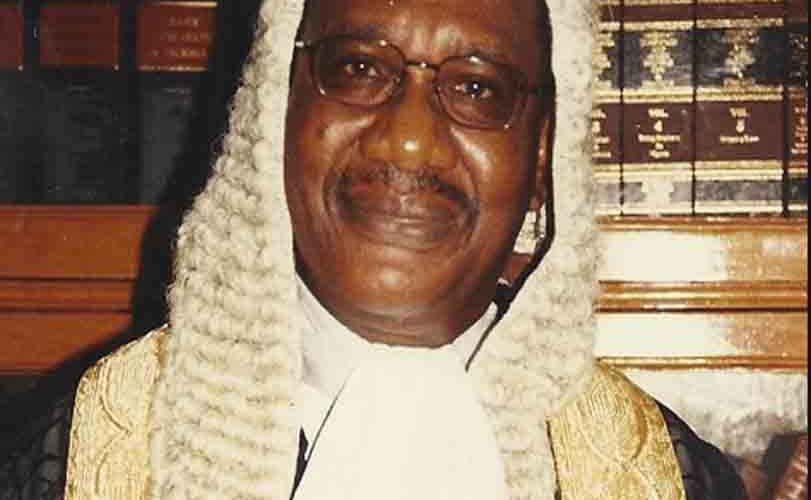 Former Chief Justice Of The Supreme Court, Katsina-Alu Is Dead
