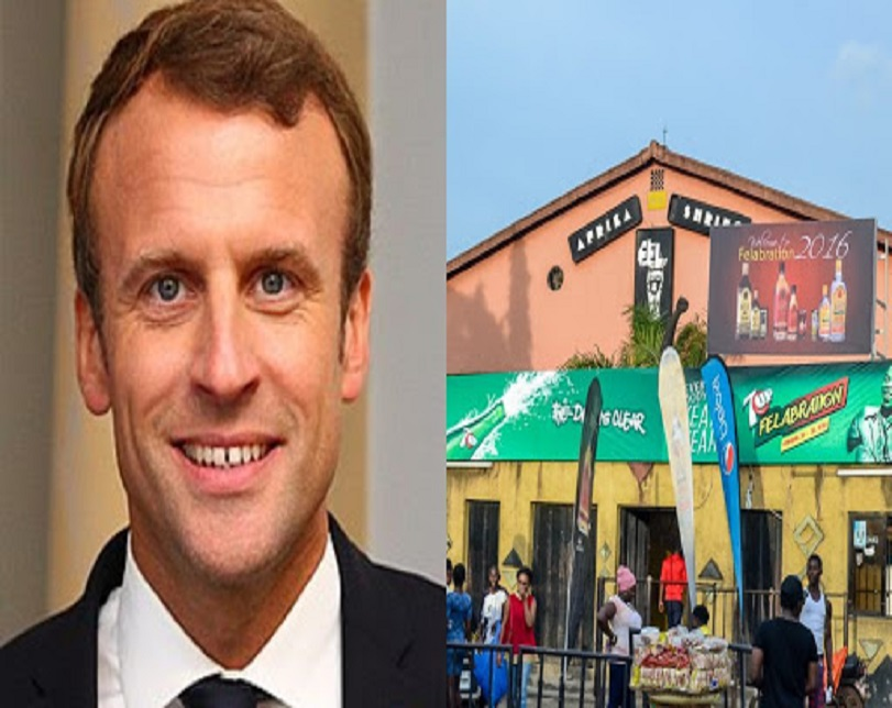 French President Macron To Nigerian Youths: Join Politics