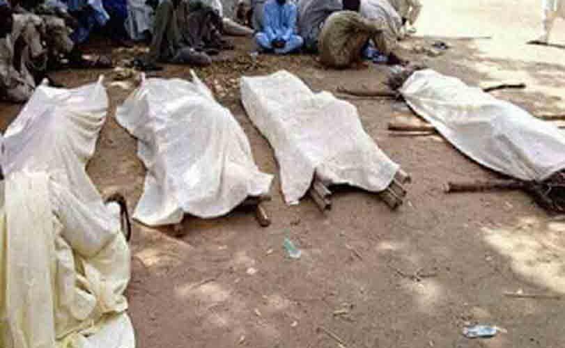 Eight killed at Borno mosque suicide attack