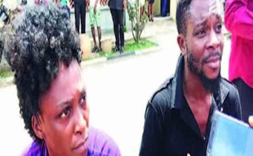Lovers Arrested In Lagos For Trafficking Ladies For Pros-titution