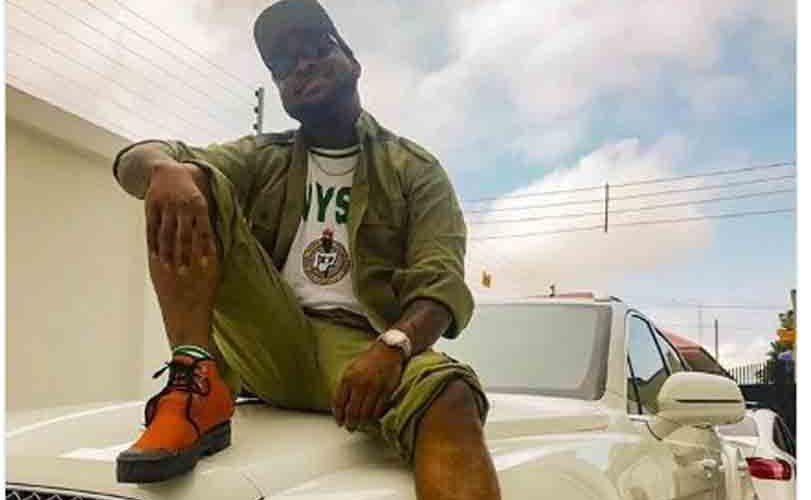 Davido Goes On NYSC… See How He Looks In His Khaki Uniform (Photos)
