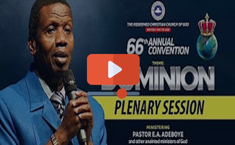 DAY 3 RCCG Holy Ghost Convention 2018 – PLENARY SESSION 2