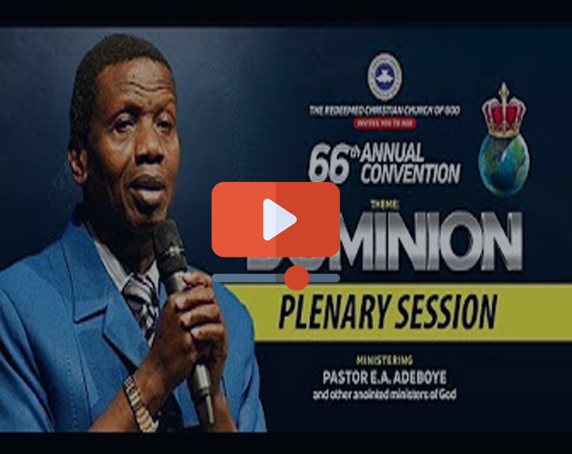 Day 5 RCCG AUGUST 2018 HOLY GHOST SERVICE – DOMINION